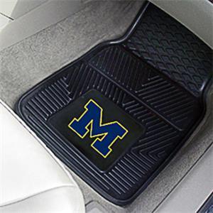 Fan Mats Univ of Michigan Vinyl Car Mats (set)