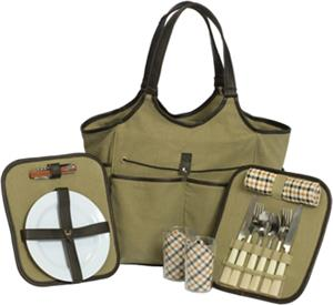 Picnic Plus Palmetto 2 Person Picnic Tote Set