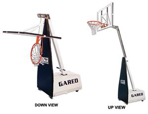Gared Mini-EZ Portable Basketball Backstops