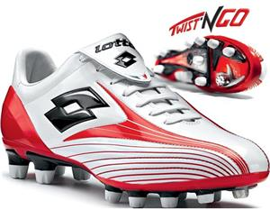 Lotto Zhero Evolution Due soccer cleats Twist n Go