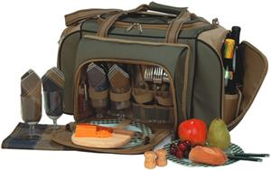Picnic Plus Quattro 4 Person Picnic Tote