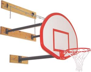 Gared 3 Point Basketball Goal Wall Mounts