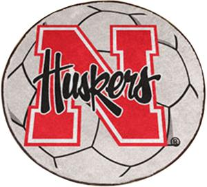 Fan Mats University of Nebraska Soccer Ball