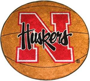 Fan Mats University of Nebraska Basketball Mat