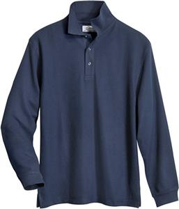 TRI MOUNTAIN Enterprise Long Sleeve Knit Shirt