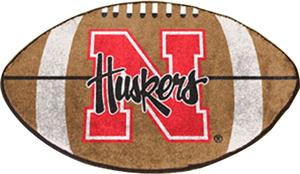 Fan Mats University of Nebraska Football Mat
