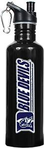 NCAA Duke Blue Devils Black Water Bottle