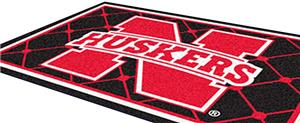Fan Mats University of Nebraska 5x8 Rug
