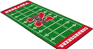 Fan Mats University of Nebraska Football Runner