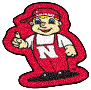 Fan Mats University of Nebraska Mascot Mat