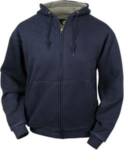 TRI MOUNTAIN Shelter Full Zip Hooded Sweatshirt
