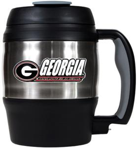 NCAA Georgia Bulldogs 52oz Macho Travel Mug