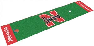 Fan Mats University of Nebraska Putting Green Mat