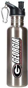 NCAA Georgia Bulldogs Stainless Water Bottle