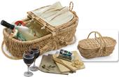 Picnic Plus Eco Friendly Wine & Cheese Basket
