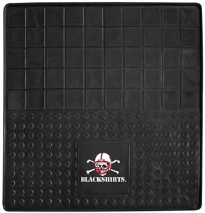 Fan Mats Nebraska Black Shirts Vinyl Cargo Mat