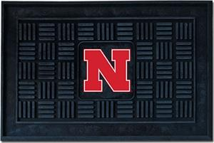 Fan Mats University of Nebraska Door Mat