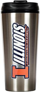 NCAA Illinois Fighting Illini 16oz Travel Tumbler