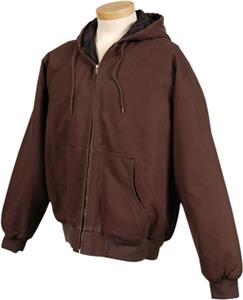 TRI MOUNTAIN Buckeye Heavyweight Hooded Jacket