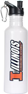 NCAA Illinois Fighting Illini White Water Bottle