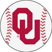 Fan Mats University of Oklahoma Baseball Mat