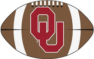 Fan Mats University of Oklahoma Football Mat