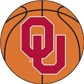 Fan Mats University of Oklahoma Basketball Mat