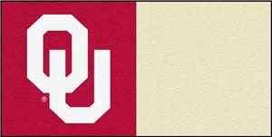 Fan Mats University of Oklahoma Team Carpet Tiles