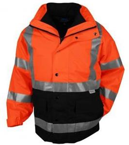 TRI MOUNTAIN Industry 3-in-1 System Safety Parka