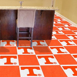 Fan Mats University of Tennessee Carpet Tiles