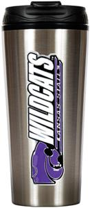 NCAA Kansas State Wildcats 16oz Travel Tumbler