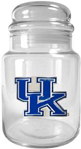 NCAA Kentucky Wildcats Glass Candy Jar