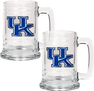 NCAA Kentucky Wildcats 15oz Glass Tankard
