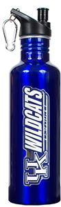 NCAA Kentucky Wildcats Blue Water Bottle