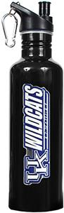 NCAA Kentucky Wildcats Black Water Bottle