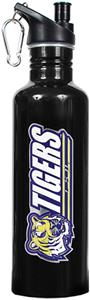 NCAA LSU Tigers Black Water Bottle