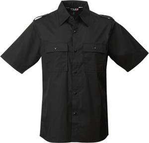 TRI MOUNTAIN Spoiler Collared Short Sleeve Shirt
