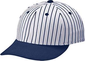 Teamwork ProFlex Twill Pinstripe Baseball Caps