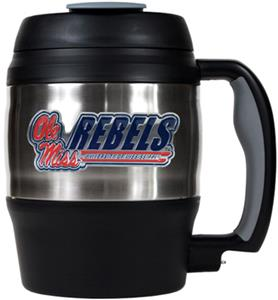 NCAA Mississippi Rebels 52oz Macho Travel Mug