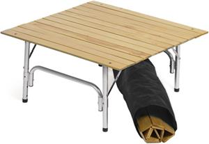 Picnic Plus Roll Up Travel Table with Travel Bag