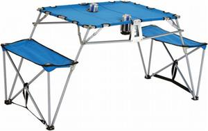 Picnic Plus Dalby Portable Camping Travel Table