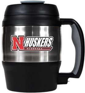 NCAA Nebraska Cornhuskers 52oz Macho Travel Mug