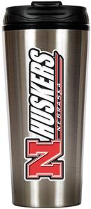NCAA Nebraska Cornhuskers 16oz Travel Tumbler