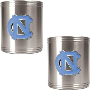 NCAA U of N Carolina Stainless Steel Can Holders