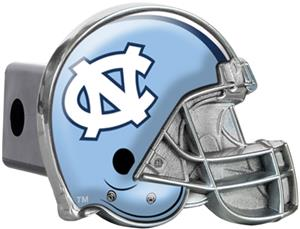 NCAA U of N Carolina Helmet Trailer Hitch Cover