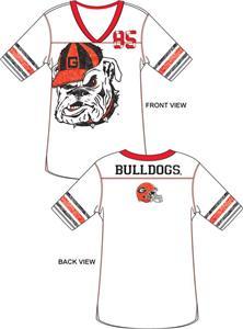 Emerson Street Georgia Bulldogs Jersey Tunic