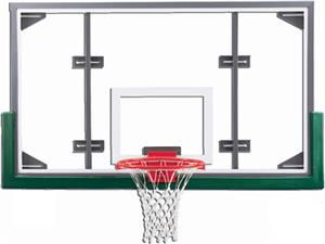 "Gared ARG Conversion 72"" Glass / Steel Backboards"