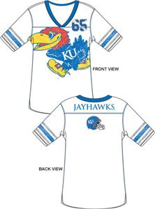 Emerson Street Kansas Jayhawks Jersey Tunic