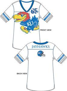 Emerson Street Kansas Jayhawks Jersey Tunic