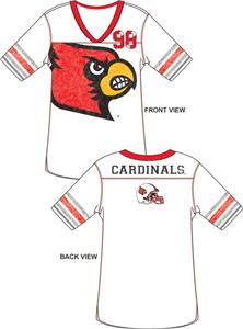 Emerson Street Louisville Cardinals Jersey Tunic